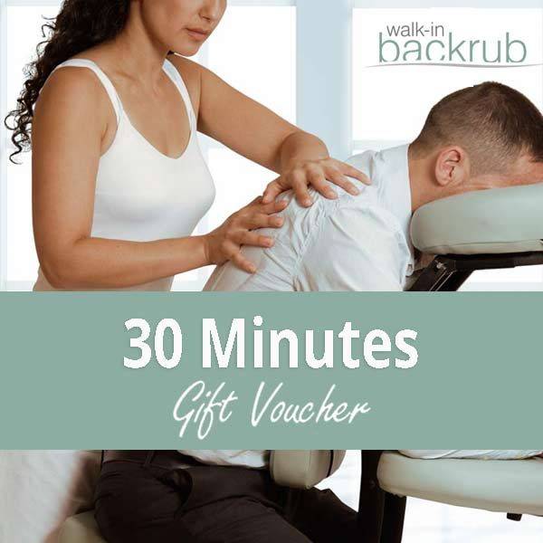 Buy Massage gift voucher 30 Minutes posted 1st class