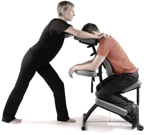 On-Site chair massage courses in London UK