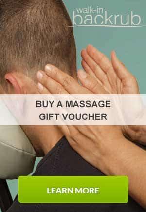London Massage gift vouchers