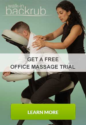 Get a free office massage trial at your company
