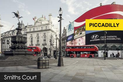Piccadilly Circus Massage, Smiths Court Brewer Street