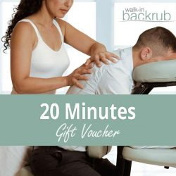 Buy Massage gift voucher 20 Minutes posted 1st class