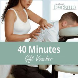 Buy Massage gift voucher 40 Minutes posted 1st class